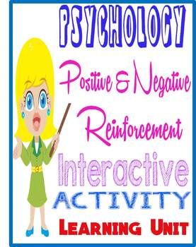 Positive & Negative Reinforcement Envelope Activity for Ps