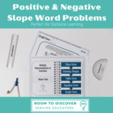 Positive & Negative Slope Advanced Word Problems