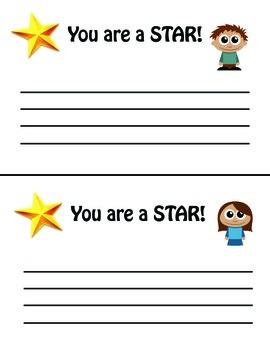 Positive Note Home - YOU ARE A STAR!