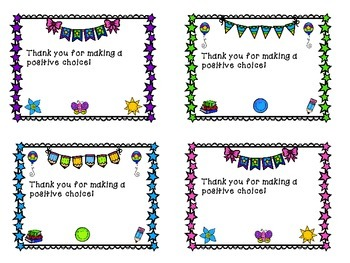 Positive Note Templates and Ideas for Students & Teachers