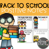 Positive Notes: Back to School