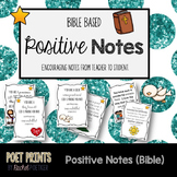 Encouragement Notes, Bible Verses