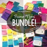 Positive Notes: Bundle, Notes from Teachers and Students, Bitmojis, Compliments