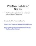 Positive Notes - Disney themed