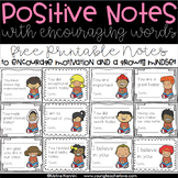 Positive Notes: Encouraging Motivation and Growth Mindset