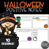 Positive Notes { Halloween }
