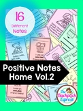 Positive Notes Home #2 | Good Notes Home For Students| Par
