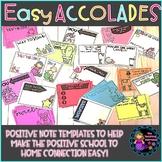 Positive Notes Home Easy Accolades