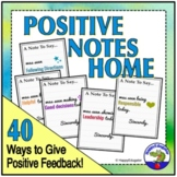 Positive Notes Home - Editable Set of 40