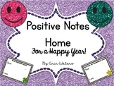 Positive Notes Home For a Happy Year :)