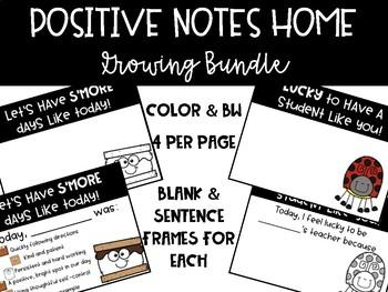 Positive Notes Home - Growing Bundle