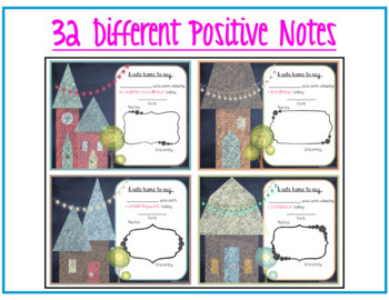 Positive Notes Home - House Chalkboard Theme