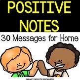 Positive Notes Home to Parents NO PREP