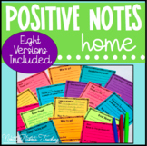 Positive Notes Home - Note's From the Teacher