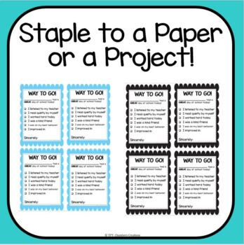 It is a graphic of Lively Printable Positive Notes Home for Parents