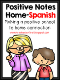 Positive Notes Home: ESL Version