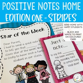 Positive Notes Home - STRIPES