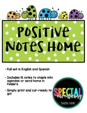 Positive Notes Home (Spanish/English)