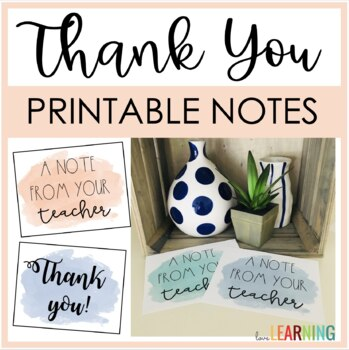 Positive Notes Home and Thank You Cards