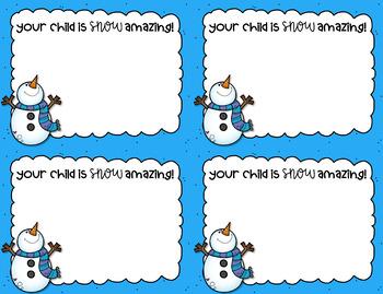 Positive Notes Home for Parent Communication