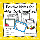 Positive Notes Home for Parent Communication