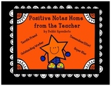 Positive Notes Home from the Teacher