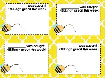 Positive Notes Home to Parents Template