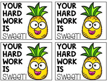 Positive Notes: Pineapple