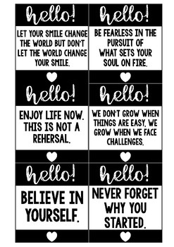 Positive Notes | Staff Wellbeing