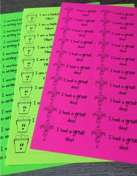 Positive Notes and Labels!
