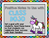 Positive Notes for Class Dojo