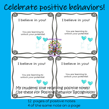 Positive Notes for PBIS