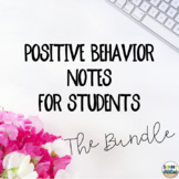 Positive Notes for Students ~ The Bundle