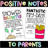 Positive Notes to Parents
