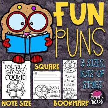 Positive Notes to Students - FUN PUNS (Endless Bundle)