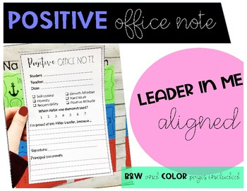 Positive Office Referral Note