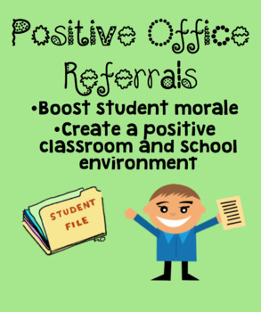 Positive Office Referral/Note Home