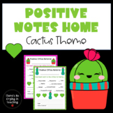 Positive Office Referrals and Good Notes Home (Cactus Theme)
