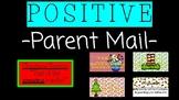 Positive Parent Mail: Christmas Theme