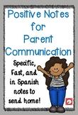 Growth Mindset Notes - English & Spanish