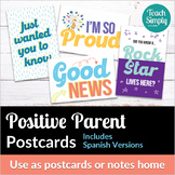 Positive Notes Home to Parents Postcard | Distance Learning