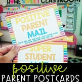 Positive Parent Mail [Postcards] - Spanish Version Included!