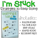 Positive Perseverance Work Strategies: I'm Stuck