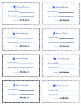 Positive Phone Call Home Reward Cards