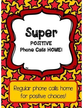 Positive Phone Calls Home!