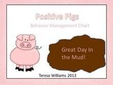 Positive Pigs Behavior Management Chart