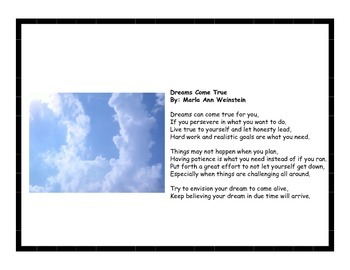 Positive Poetry Pack #5