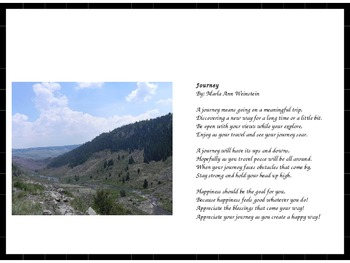 Positive Poetry PowerPoint Presentation #8
