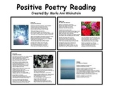 Positive Poetry Reading