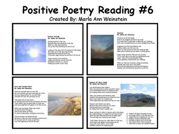 Positive Poetry Reading #6